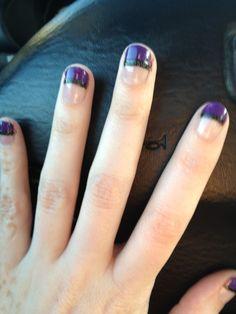 Purple and Black Sparkle!