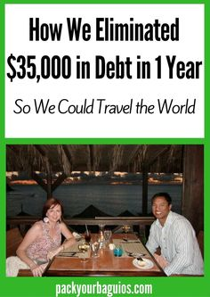 When Joe and I got married, we knew we wanted to make travel a priority. Between the two of us, had $35,000 in debt. See how we spent our first year of marriage kicking our debt to the curb.