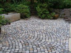 Terrasse mit Granit (Step Design Exterior)