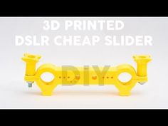 3D Printed DSLR Slider! Cheaper Than 20$: 9 Steps (with Pictures)