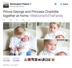The photos were taken by the Duchess of Cambridge.