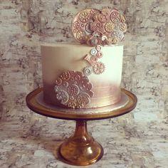 Engineer's birthday cake..