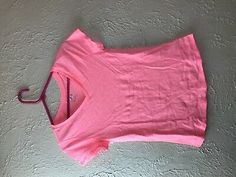 Justice plain v-neck short sleeve T-shirt size 14 #fashion #clothing #shoes #accessories #kids #girls (ebay link)
