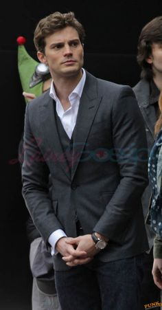 Jamie Dornan is really hot on the set of Fifty Shades Of Grey Lainey Gossip Entertainment Update