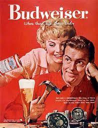 propaganda de cerveja antiga