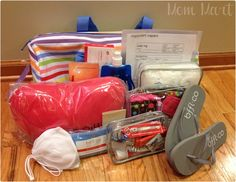 Mom Mart: Packing for Labor and Delivery with the BFFL Bag #Review