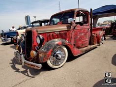 Old school rat rod pickup.   Hot Rods/Sick Rigs!   Pinterest   Rat ...