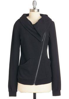 Brunch on the Patio Jacket in Black   Mod Retro Vintage Jackets   ModCloth.com