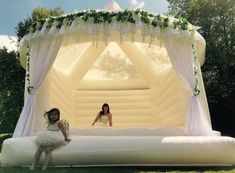 Bouncy Castles For Weddings Exist, And They Look So Fun