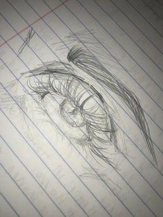 how to draw things Pencil Art Drawings, Art Drawings Sketches, Realistic Drawings, Cool Drawings, Ipad Kunst, Art Hoe, Art Sketchbook, Aesthetic Art, Drawing People