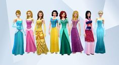 Check out this household in The Sims 4 Gallery! - #snowwhite #cinderella #frozen…