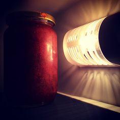 #jam #jar # light #refrigerator #iPhone | Flickr - Photo Sharing!