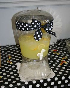 Bumble Bees Baby Shower Party Drinks!  See more party planning ideas at CatchMyParty.com!