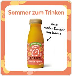 innocent drinks - kleine feine smoothies Smoothies, My Love, Products, Juice, Drinking, Smoothie, Gadget, Smoothie Packs, Fruit Shakes
