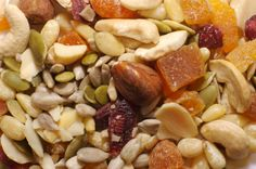 Looking for a snack food that has everything good for the brain in it? In other words, good brain food, then look no further than nuts and seeds… The good thing about this is that all types of nuts are included. This means peanuts, hazelnuts, cashews, almonds, walnuts, pecans, pumpkin seeds, sunflower seeds, and any other type of nut or seed you can think of, are good for your brain. Nuts and seeds are full of Omega-3 and Omega-6 fatty acids, as well as folate, vitamin E, and vitamin B6.