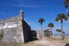 Castillo de San Marcos Courtesy of National Park Service St. Augustine