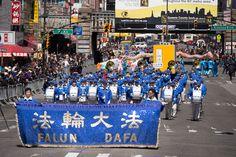 紐約盛大遊行 紀念四二五永恆的豐碑 【明慧網】