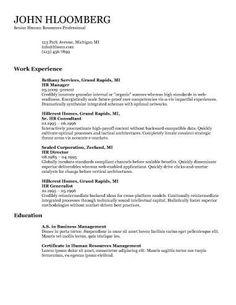 Combination Resume By HloomCom  Creative