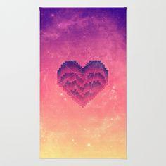 Interstellar Heart III Area & Throw Rug #rug #home
