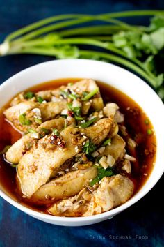 mouth watering chicken-Saliva Chicken