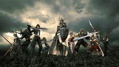 beautiful final fantasy 7 background