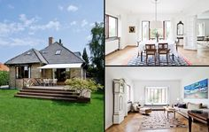 Sjæl, charme og lækker terrasse Bungalow, Outdoor Decor, Inspiration, Beautiful, Home Decor, Terrace, Glamour, Respect, Biblical Inspiration