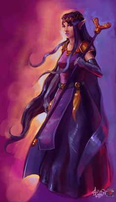 The Legend of Zelda 121 (Hilda, Princess of Lorule by Siga4BDN)