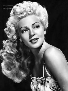 Lana Turner - If we are setting Zoe's script in the 50's then the picture should be from the 30's