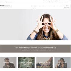 Lotus Flower WordPress Theme | Best WordPress Themes 2013