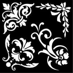 Creative Expressions ORNATA gli elementi che tocco speciale Maschera/Stencil maskornele | eBay