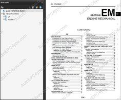 Nissan X-Trail T30 service manual, repair manual, workshop manual, electrical Wiring Diagrams, body repair manual Nissan X-Trail - T30 series, USA market