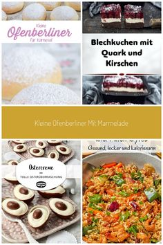 Fluffige, kleine Ofenberliner mit leckerer Marmelade: ein Rezept für im Ofen gebackene Mini-Berliner, ohne Frittieren, schön fluffig und leicht, weniger Fett, lecker gefüllt mit Marmelade. Ob Berliner, Pfannkuchen oder Krapfen - ein Muss für Karneval und Fasching. | www.schninskitchen.de #ofenberliner #berliner #rezept #backen #karneval #krapfen #pfannkuchen # Fluffige Ofenberliner für Karneval - ohne Frittieren