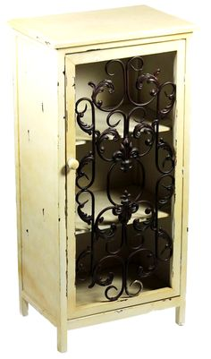 Fireside Home - QE3061 Cabinet with Metal Door - Antique, $125.00  (http://www.firesidehome.ca/cabinet-with-metal-door-antique/)