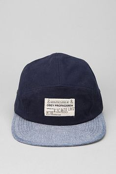 OBEY Munition 5-Panel Hat #obey #hat #urbanoutfitters