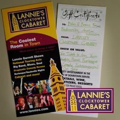 Lannie's Clocktower Cabaret has donated two tickets to Naughty Pierre's Burlesque & Comedy Extravaganza to the #bbb16 silent auction! That sounds like a naughty fun time!