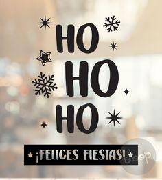 Vinilo VIDRIERA NAVIDAD Modelo 61 Vinilo Christmas And New Year, Christmas Tree, Christmas Ornaments, Stranger Things Netflix, Christmas Cookies, New Art, Cactus, Winter, Merry