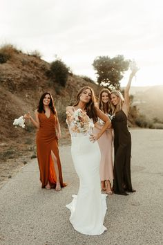 Something EXCLUSIVE has arrived at Lovely and we're so excited to share it: meet Lovely Bride x Made Western Wedding Dresses, Bohemian Wedding Dresses, Wedding Bridesmaid Dresses, Dream Wedding Dresses, Boho Wedding, Farm Wedding, Mismatched Bridesmaid Dresses, Fantasy Wedding, How To Pose