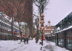 Quincy Market Holiday