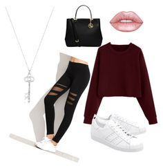 """""""💋"""" by mxvdx on Polyvore featuring mode, adidas Originals en MICHAEL Michael Kors"""