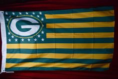 Green Bay Packers, Packers Nation Flag or Banner 3' x 5' by PatchesOhoul on Etsy https://www.etsy.com/listing/250629180/green-bay-packers-packers-nation-flag-or