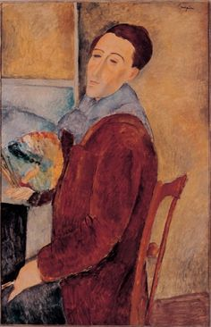 Self Portrait by Modigliani.