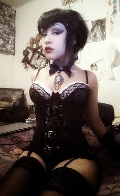 Mature goth women of fashion are mistaken