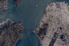 """Scott Kelly on Twitter: """"#SanFrancisco. I almost felt like I was with you as we flew overhead a few minutes ago. #YearInSpace http://t.co/G00DP8uIJO"""""""
