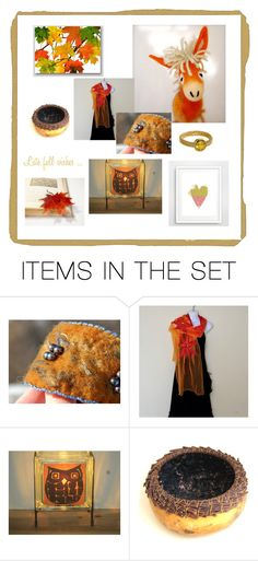 """""""Late Fall Wishes"""" by penandhook ❤ liked on Polyvore featuring art"""