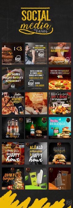 Social Media – Diversos on Behance - My Design Ideas 2019 Social Media Art, Social Media Detox, Social Media Banner, Social Media Marketing Agency, Social Media Branding, Socail Media, Food Graphic Design, What Is Social, Advertising Design
