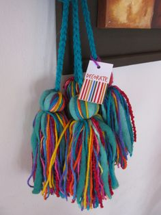 Agarra Cortinas de borlas Diy Tassel, Tassels, Arts And Crafts, Diy Crafts, Passementerie, Hippie Chic, Hair Pins, Sewing Projects, Weaving