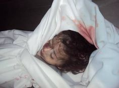 The 15-month-old Raneen Abdul-Ghafour. One of the Israeli bank of targets.
