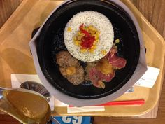 Curry Rice Beef and Ham