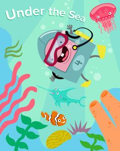 Under the Sea | Education.com | Go under the sea with these fun ocean-themed activities and crafts! Kids will make octopus mobiles, underwater viewers, whale friends, and even an entire ocean in a bottle. Spend the summer at sea with these ocean-themed activities!