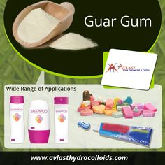 Guar gum is divided into multiple categories based on their quality level and particle size. It is used inside shampoo to increase the viscosity and makes hairs healthy and shinier.  It can be added in toothpaste for different taste and aroma. It is added inside soaps to absorb extra water content and giving desirable shape to a product.  Due to its emulsification properties, guar gum is added inside cleaning agents like soaps or detergent etc. These are the various way of guar gum where can…